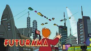 FUTURAMA | Season 1, Episode 1: Future Fry | SYFY