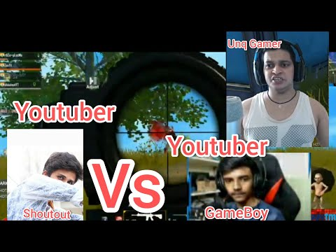 #UnqGamer And #GameBoyYt  Killed By shouOutyt ...#UnqGamer #ShoutOutyt #GameBoyYT #PUBG mobile Ft