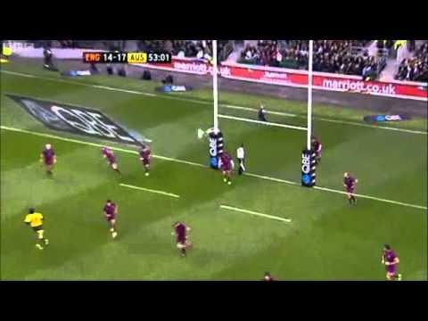 Wallabies v England 2012 Full Highlights