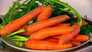 Морковь. Как она влияет на зрение? Жить здорово! (16.02.2016)