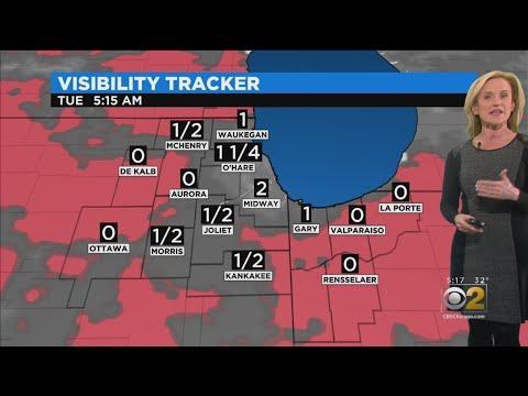 CBS 2 Weather Forecast (5PM 01-13-19)