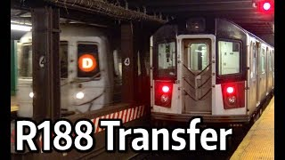 ⁴ᴷ R188 Transfer from Corona Yard to 207th St Yard