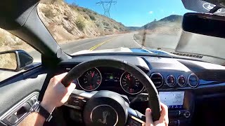 2020 Ford Mustang Shelby GT350 - POV Test Drive (Binaural Audio)