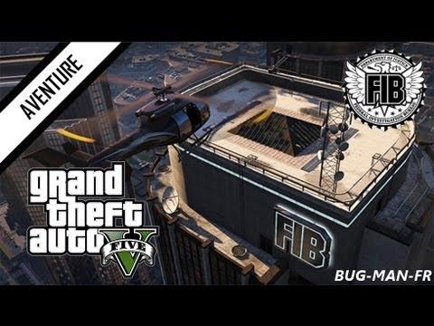 GTA 5 - Gameplay - Infiltration dans le FIB