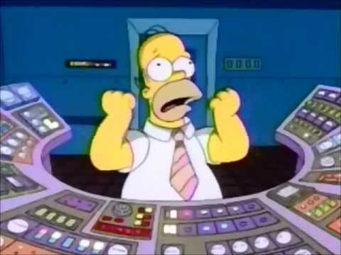 Simpsons: Homer causes meltdown