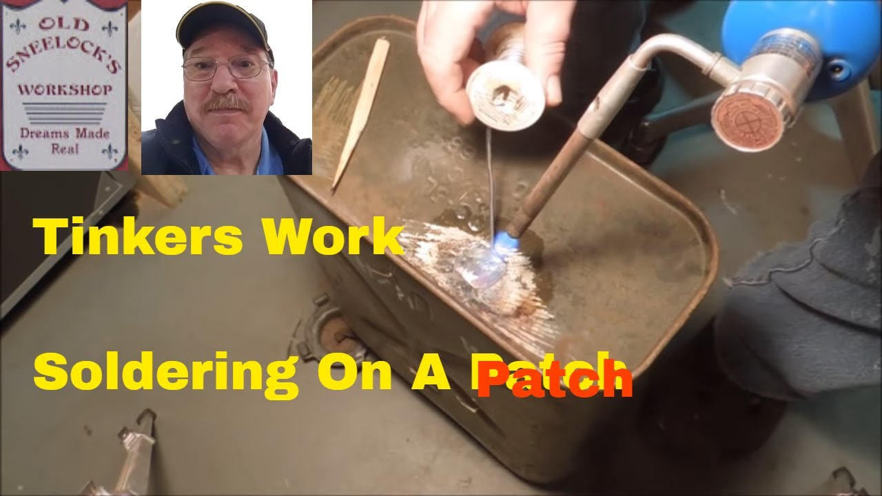 Tinkers Work Soldering On A Patch A Video Tutorial By