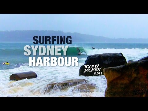 SURFING IN THE SYDNEY HARBOUR