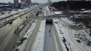 Агропромышленный парк/Строительство туннеля до стадиона Самара Арена 18.02.2018