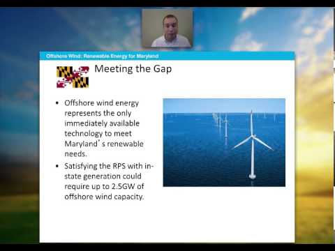 The Case for Off Shore Wind Energy: Maryland