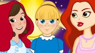 PRINCESS:Red Riding Hood |The Little Mermaid |Alice in wonderland |बच्चों की नयी हिंदी कहानियाँ |