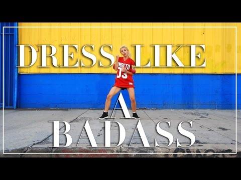 How To Dress Like A Badass {Tutorial}