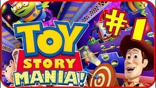 Disney Pixar Toy Story Mania Walkthrough Part 1 (PS3, X360, Wii, PC) Adventure: Wild West