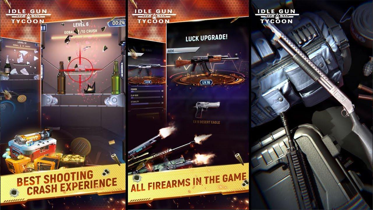Idle Gun Tycoon   By Machbird Studio   Android Gameplay ...