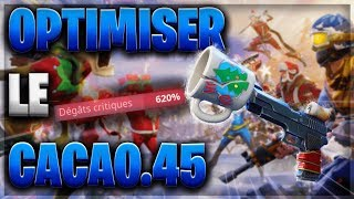 OPTIMISER CACAO .45 (620% CRITICAL DAMAGE) - FORTNITE SAUVER THE WORLD