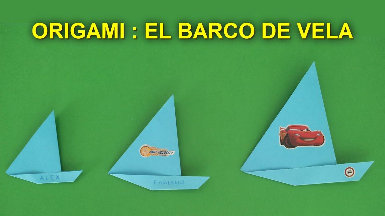 Manualidades De Papel Origami Facil De Papel Para Niños Barco De