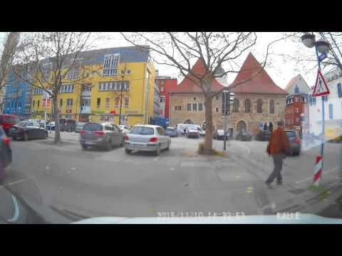 Fahrt durch Jena