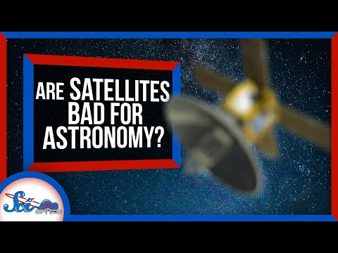 How Bad Are Satellite Constellations for Astronomy? | SciShow News
