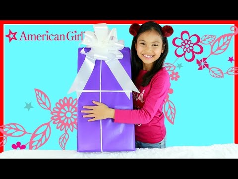 Tiana Opening SURPRISE Giant Present TOY American Girl Tenney Grant 2017 |
