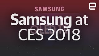 Samsung's CES 2018 event in under 12 minutes