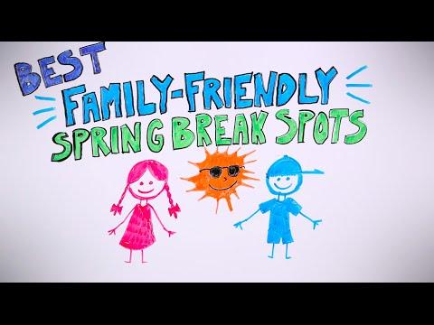The Best Spring Break Travel Spots For Kids!