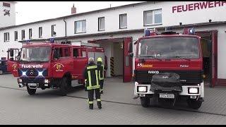 [Dorfsirene + Tesla AZD 501 + Scheunenbrand] Einsatz für die Feuerwehr Triebes