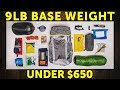 Low Budget (but high-quality!) Ultralight Gear