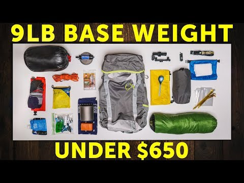 Low Budget (but high-quality!) Ultralight Gear