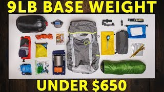 Low Budget (but highquality!) Ultralight Gear