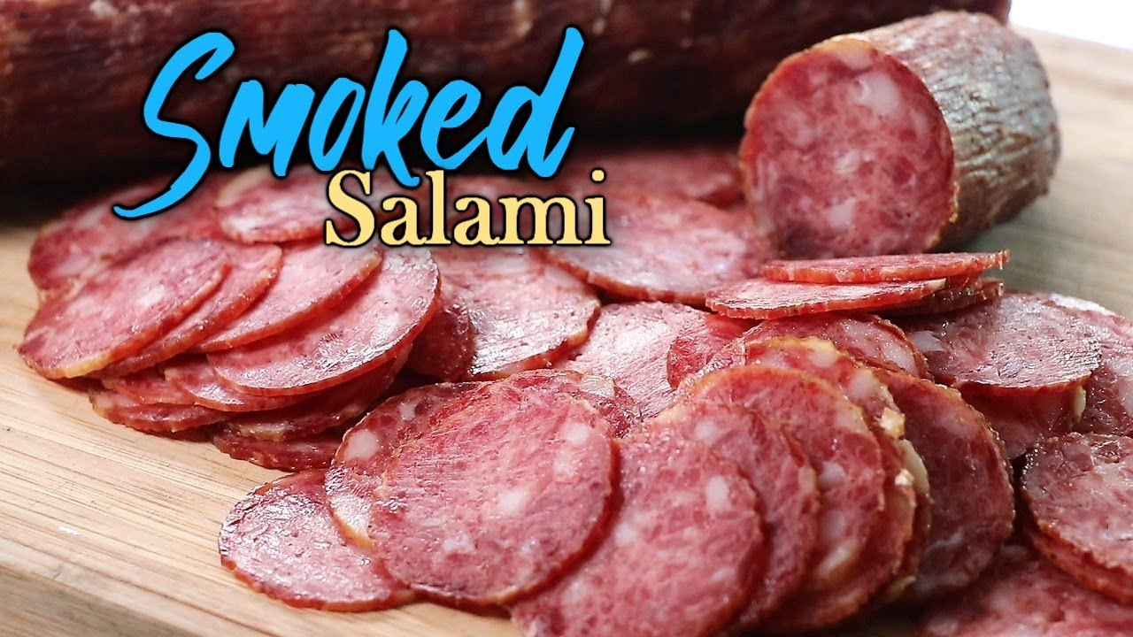 Download How to make a Smoked Salami