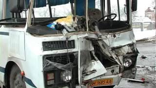 ДТП в Сумах камаз и автобус.mpg(Видео 0542, Александр Мартынюк., 2013-01-31T14:25:46.000Z)