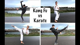 Kung Fu vs Karate | Who Has the Best Kicks?