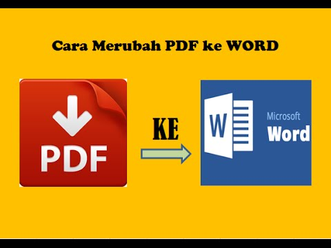 Download Software Converter PDF ke Word Gratis