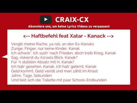Haftbefehl feat Xatar - Kanack | LYRICS