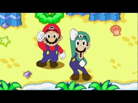 mario and luigi superstar saga 3ds gif