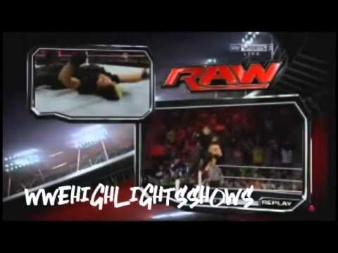 WWE Raw 10 6 13 Full Show (link In The Description)