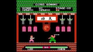 NES Longplay [415] Yie-Ar Kung Fu
