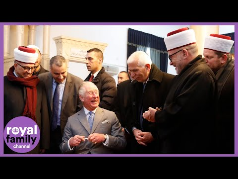 Prince Charles Welcomed To Bethlehem On First Official Visit