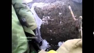 Бои на Донбассе ополченцы против Украинских силовиков Без цензуры