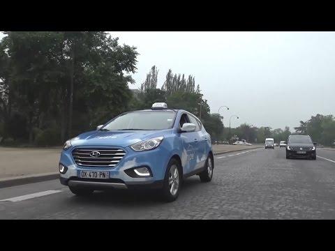 Hyundai Motor ix35 TUCSON Fuel Cell shows up in Paris