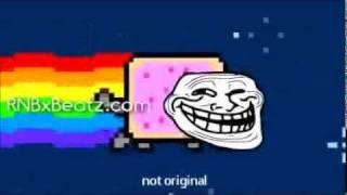 Nyan Cat - Troll Face Version (Nyan Troll Cat) 10 minutes version