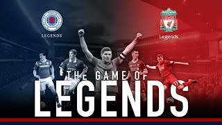 Rangers Legends v Liverpool FC Legends | Gerrard, Carragher, Kuyt and many more