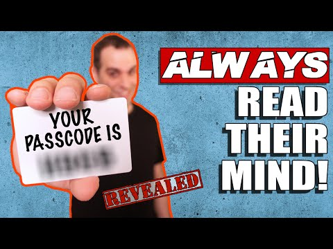 Easy Way to KNOW What Anyone is Thinking! (Always works) Mentalism Tutorial by Spidey