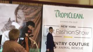 Sir Darius Brown/NY PetFashion Show's youngest designer