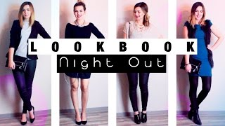 WINTER LOOKBOOK NIGHT OUT Party Outfits Weihnachten Silvester