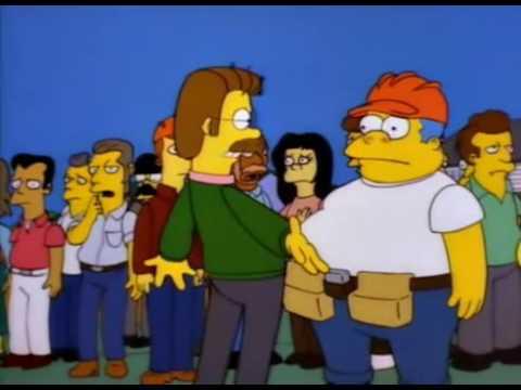 Flanders loco | Los Simpson
