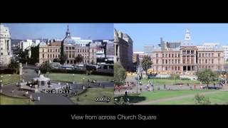 Pretoria Then and Now (1954 vs 2014)