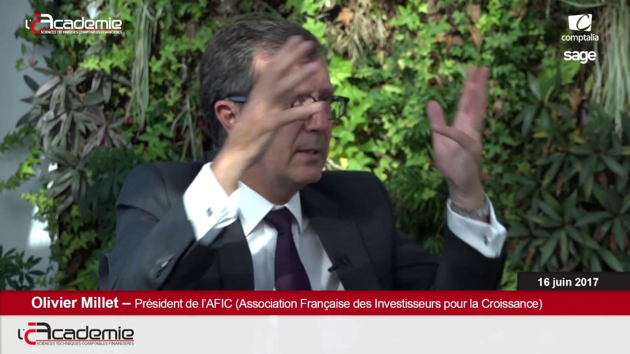 Les Entretiens de l'Académie : Olivier Millet