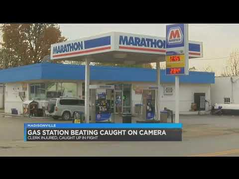 Woman beaten at Madisonville gas station by 4 Black customers...