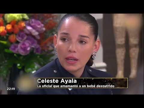 La mujer policía que amamantó al bebé en el hospital de La Plata emocionó a todos en la mesa de Mirtha