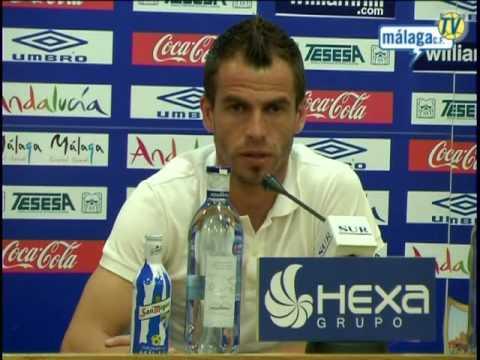 Málaga Club de Fútbol TV. Entreno: miércoles 12/05/10. Rueda de prensa